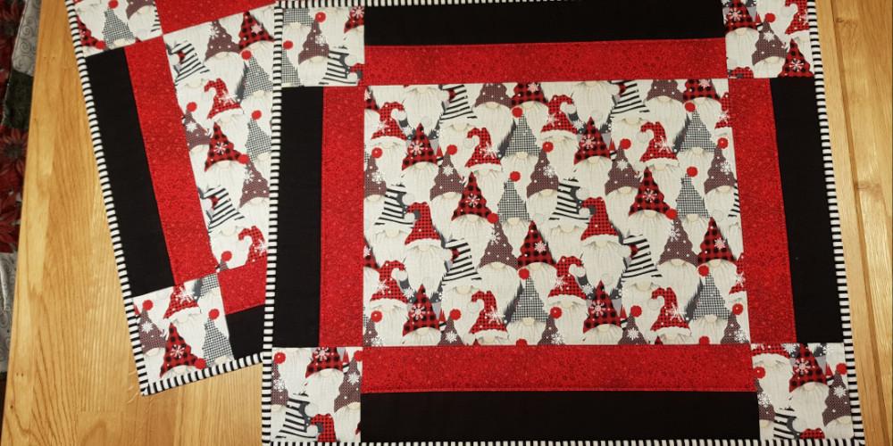 Jul på stof ruten - bankegaarden patchwork